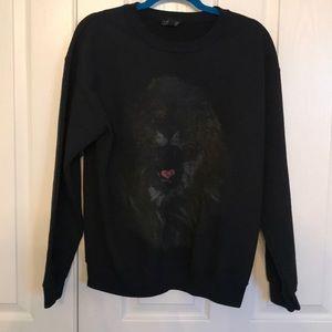 Brand new Topshop Lion sweatshirt